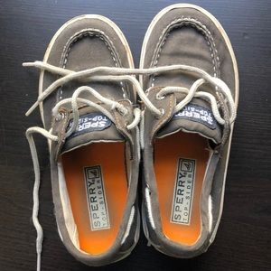 Sperry topsiders.  Size 12.5